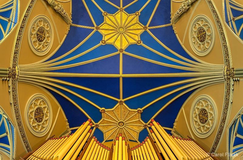 Ceiling Over the Organ