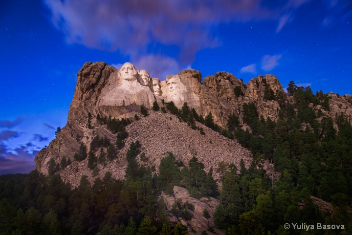 Mount Rushmore National Memorial, South Dakota<p>