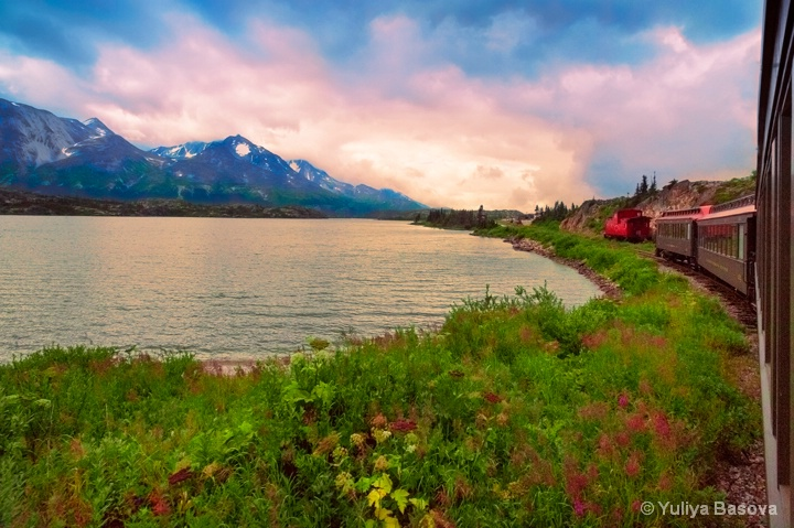 From Skagway, Alaska  to Yukon, Canada