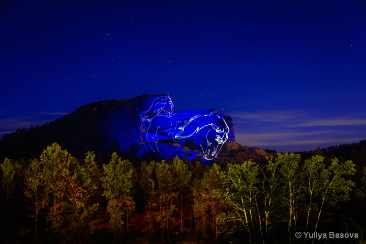 Crazy Horse Memorial, South Dakota<p>