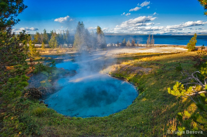 West Thumb Geyser Basin<p>