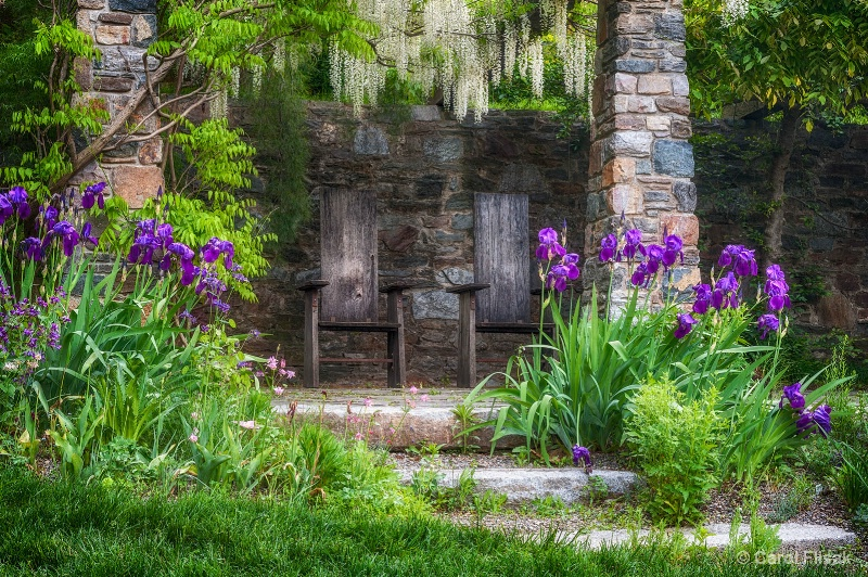 A Seat Under the Wisteria ~ Chanticleer