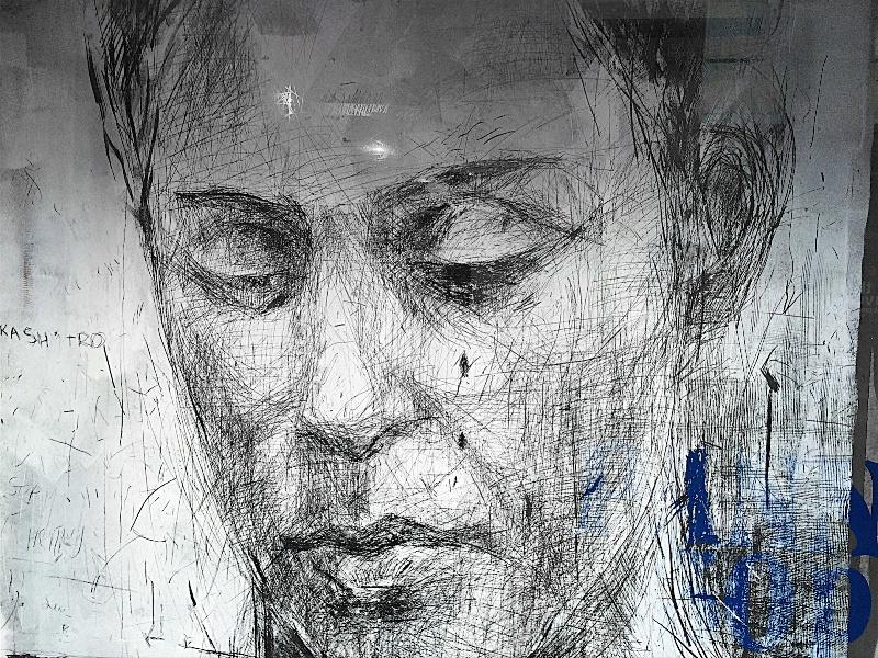 Youth Portrait in a Window
