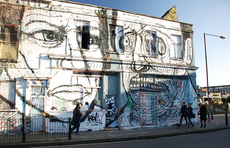 Facade Graffiti