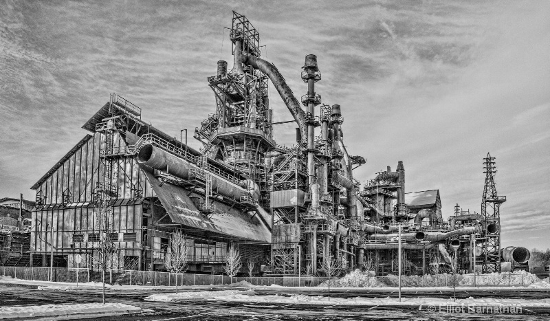 Steel Stacks BW 6