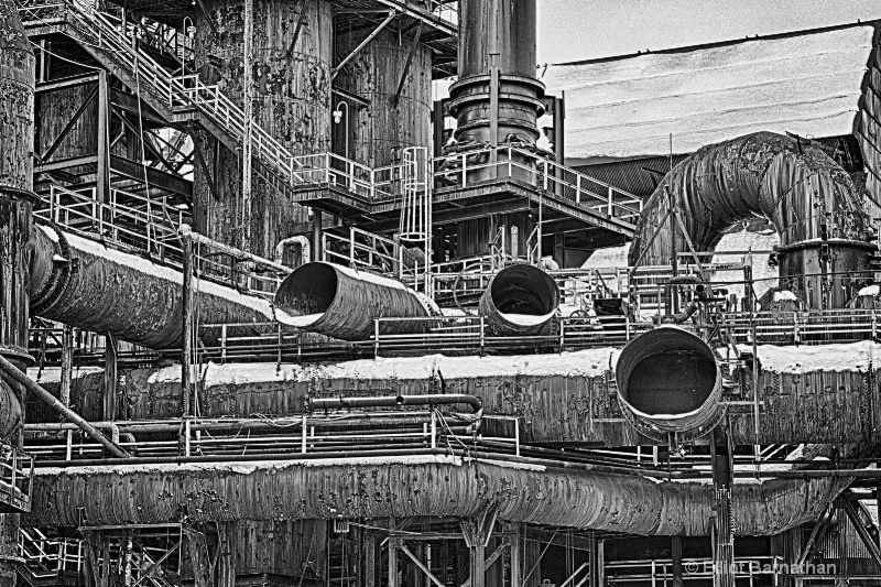 Steel Stacks BW 5