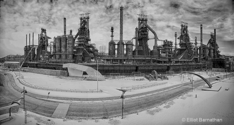 Steel Stacks BW 1