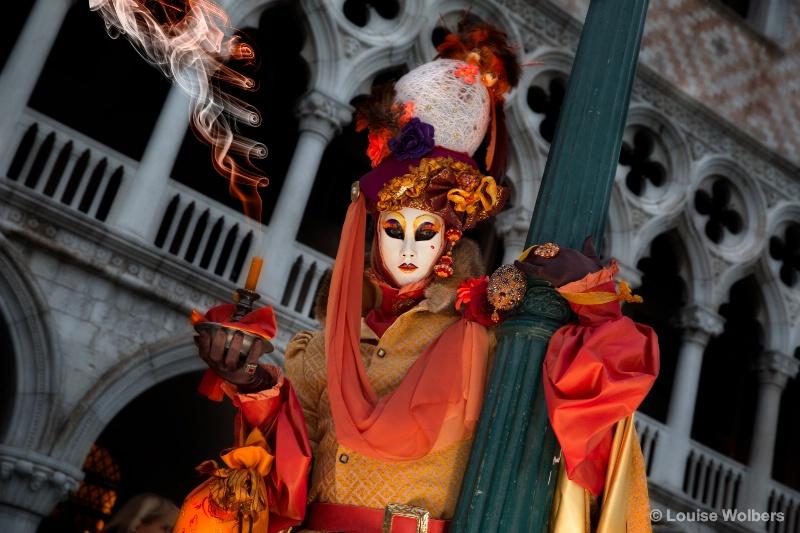 Fire in Venice