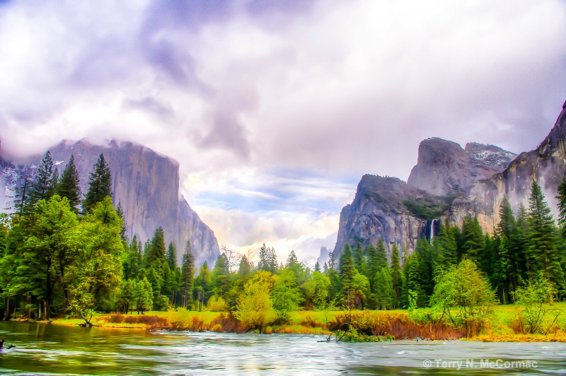 """Surreal Yosemite"""