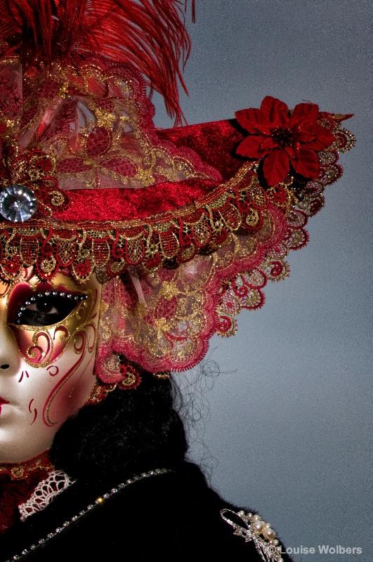Mystery Lady in Venice