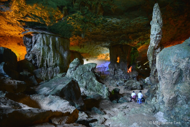 All in a Day's Work at Sung Sot Cave, Ha Long
