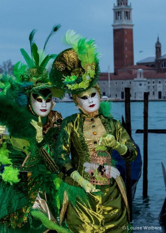 Emeralds in Venice