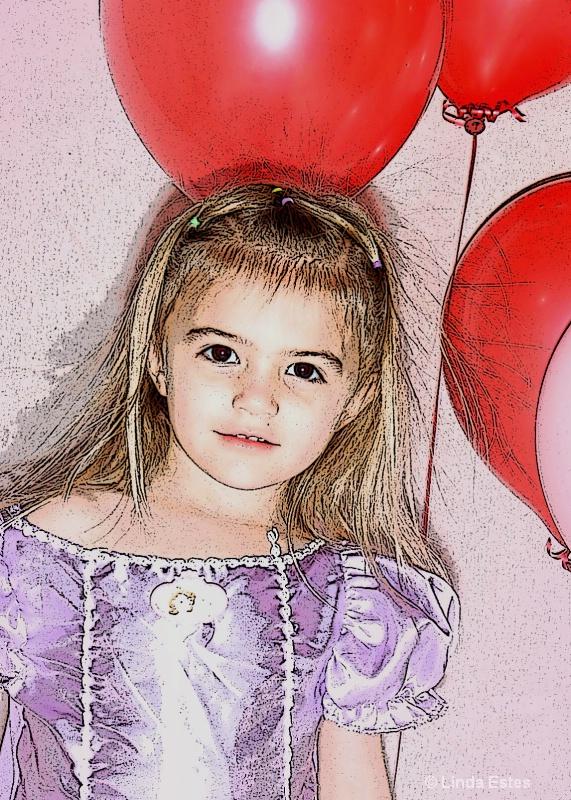 Sketch of a Princess
