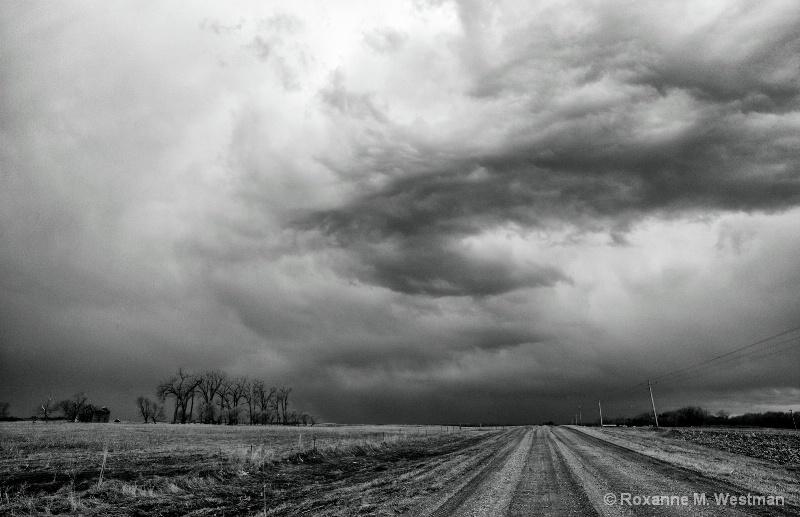 Incoming storm Sheyenne National Grasslands