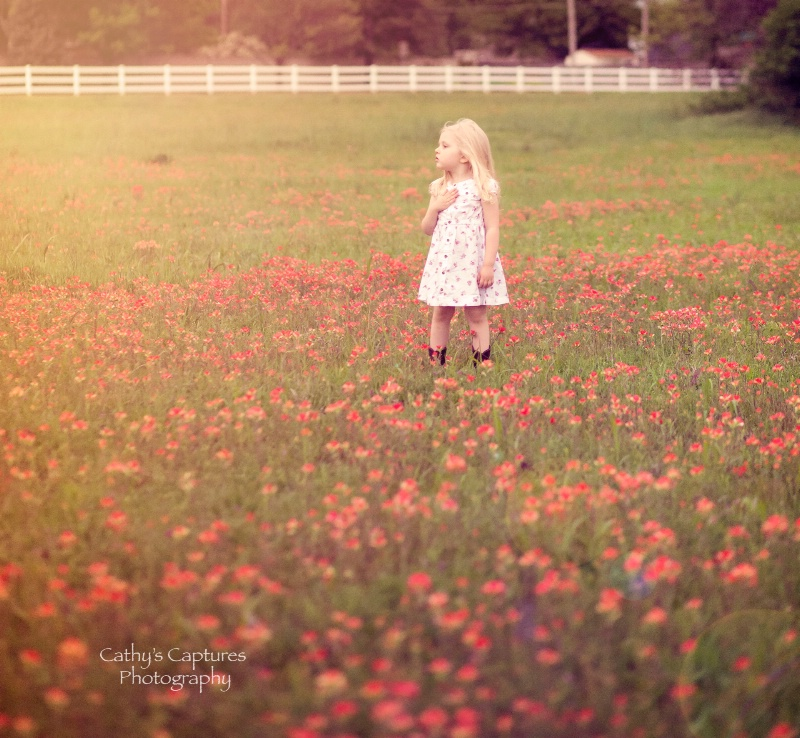 ~Emma among the Flowers~