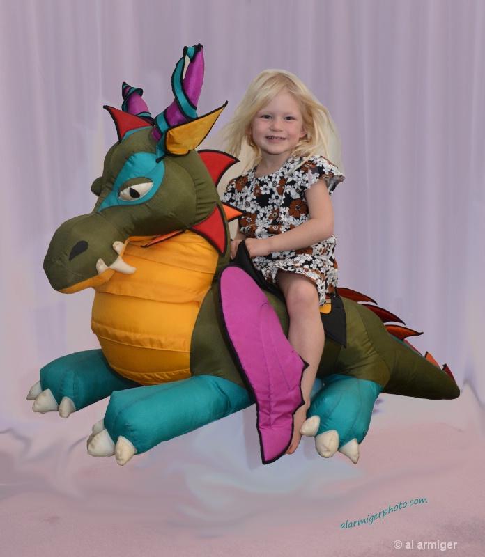 Lydia & the dragon