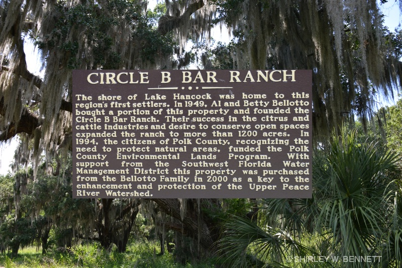 POLK COUNTY CIRCLE BAR B RESERVE