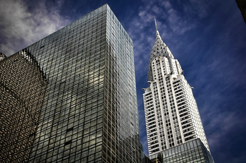 Chrysler Building and Reflections