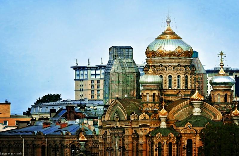 Skyline St Petersburg