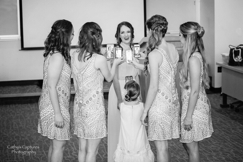 ~Taking a Picture Of the Bride~