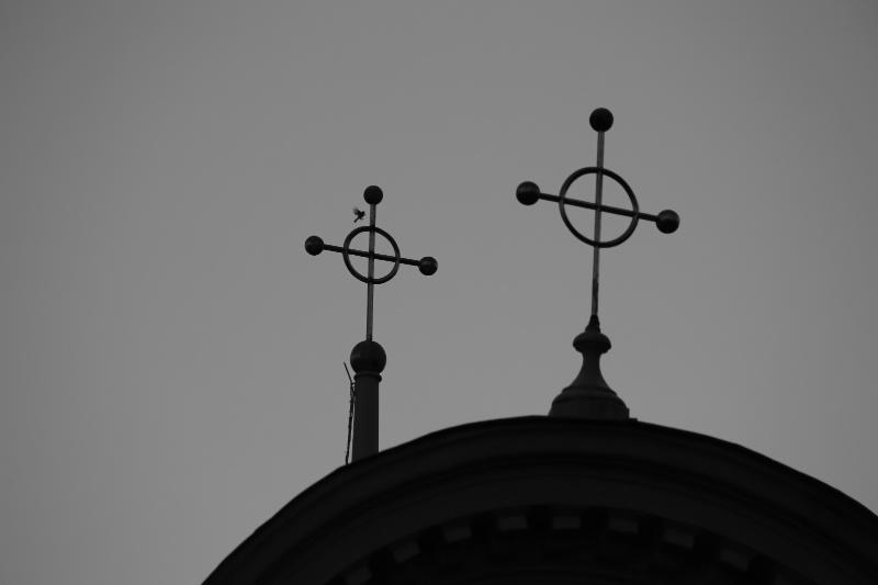 Fly Around Crosses
