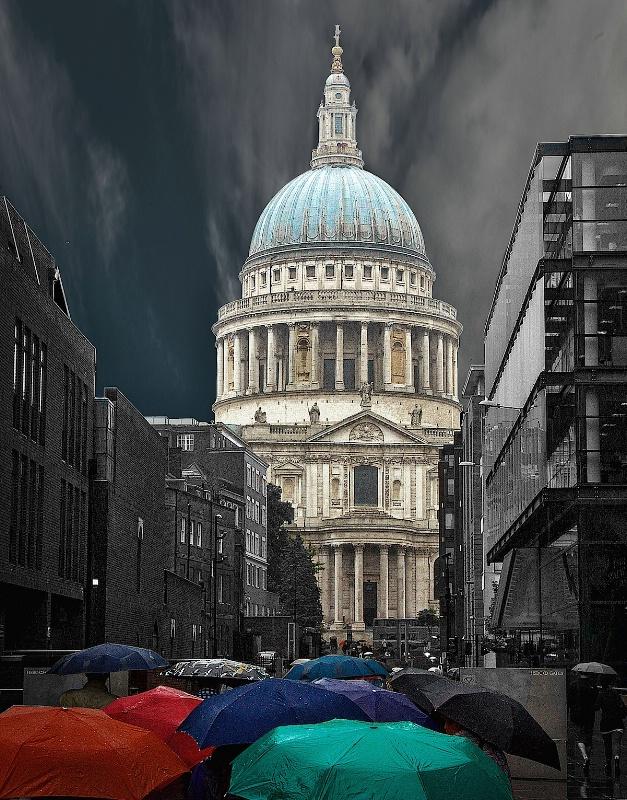 Saint Paul in the Rain