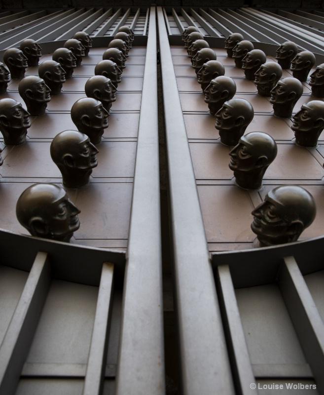 Bronze Bald Heads