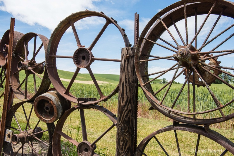 Fence at the Dahmen Barn