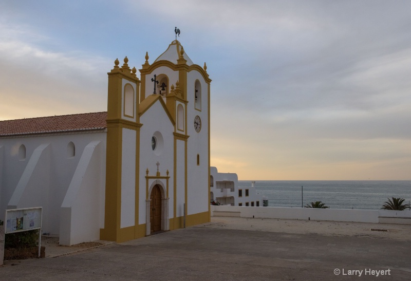 Seaside town of Luz, Portugal