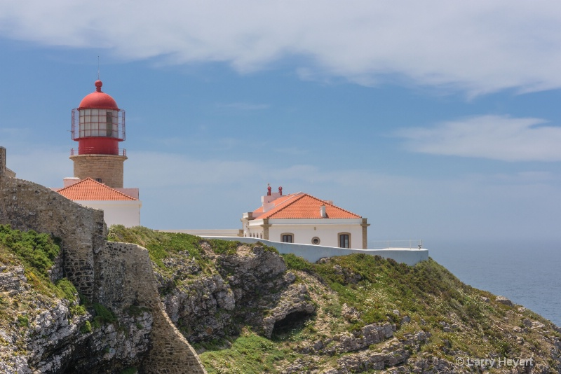 St Vicente Lighthouse in Portugal