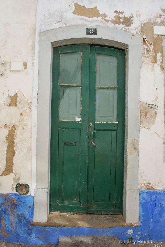 Beautiful Old Door in Portugal