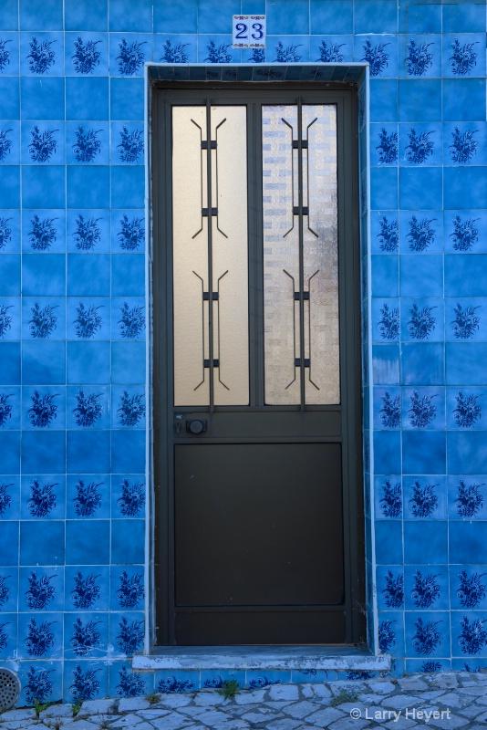 Door and Tiles in Portugal
