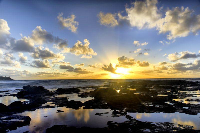 Sunrise at Kealia Point