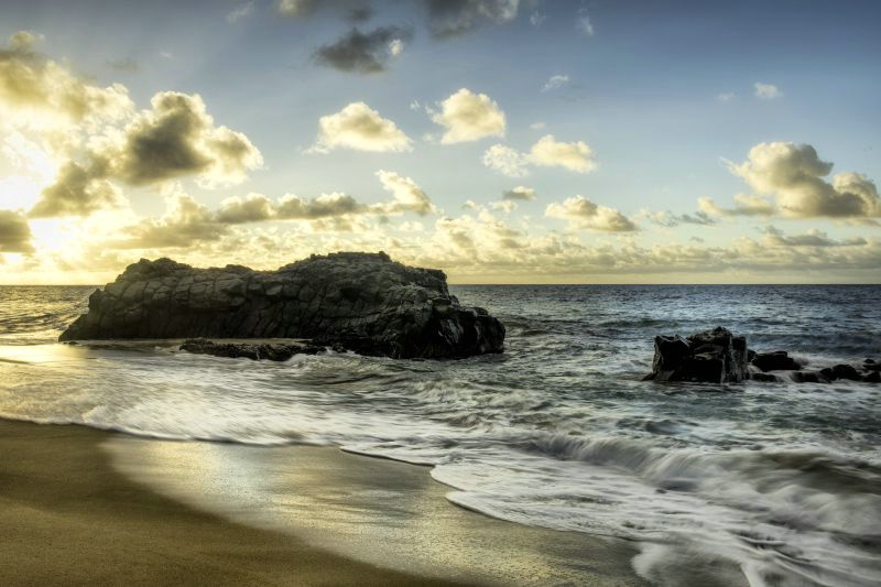 Sunset at Lumahai Beach
