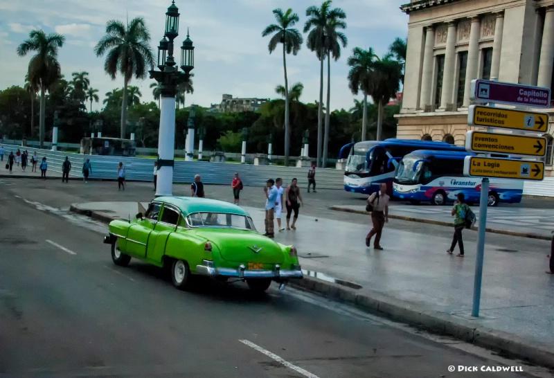 Havana, Cuba street scene