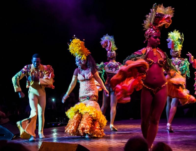 At the Tropicana Night Club - Havana, Cuba