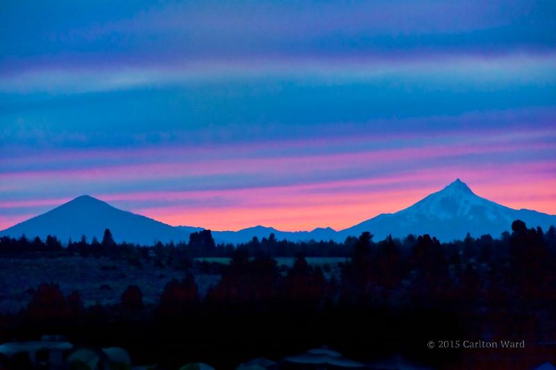 4 Peaks 15 sunset