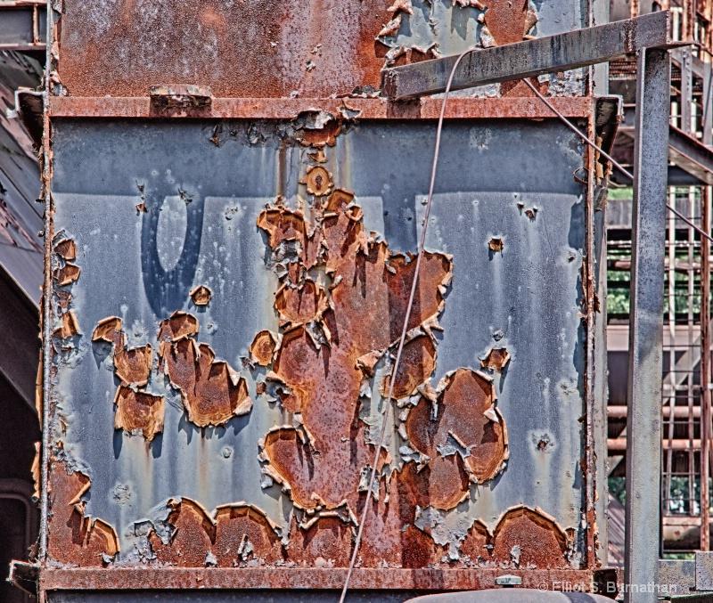 Steel Stacks Up Close 13