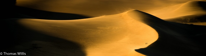 Great Sand Dunes at dusk