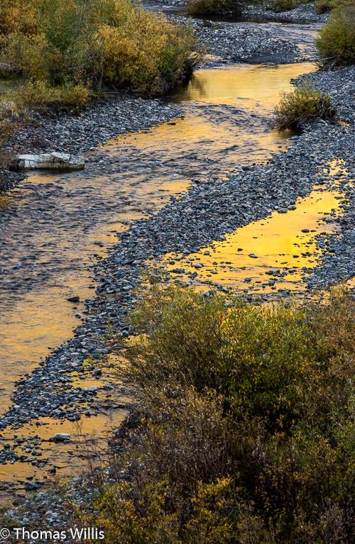 Slate River reflections