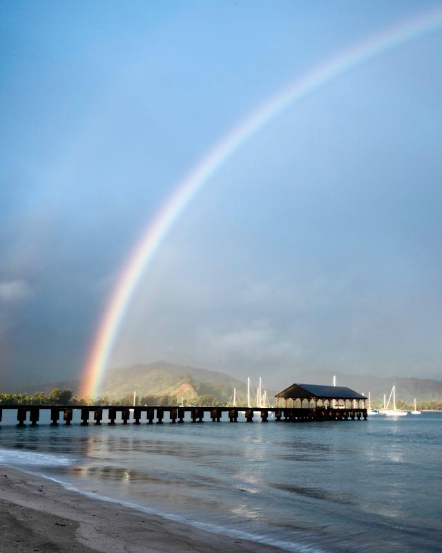 Rainbows at Hanalei II