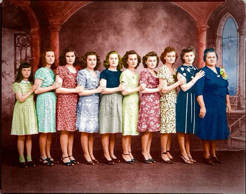 Restored and colorized
