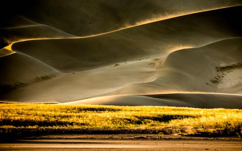 Last light, Great Sand Dunes