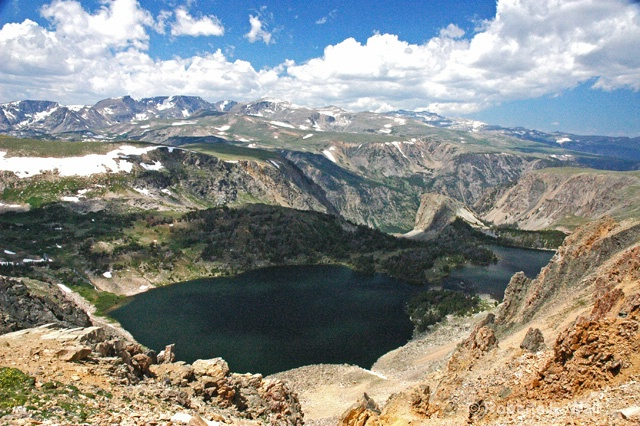 lake in Beartooth mountains