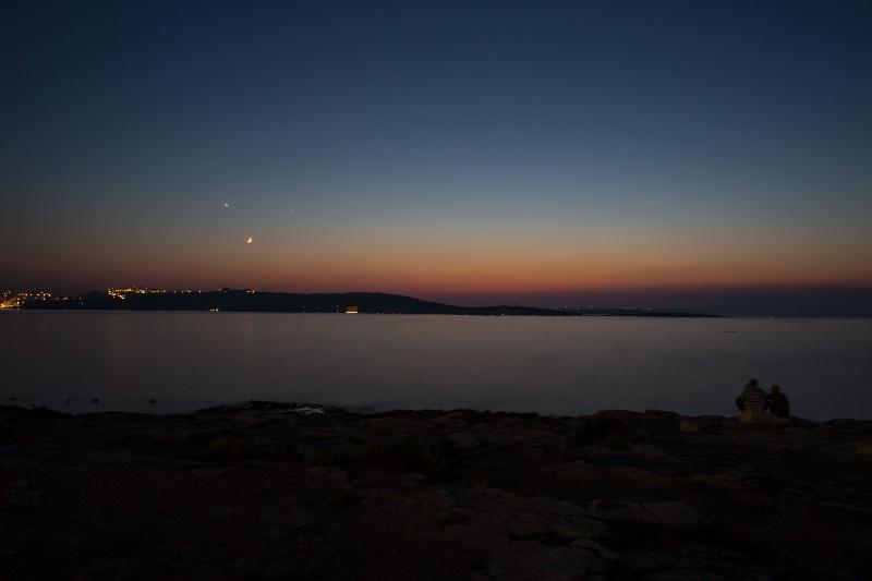 Qawra Sunset