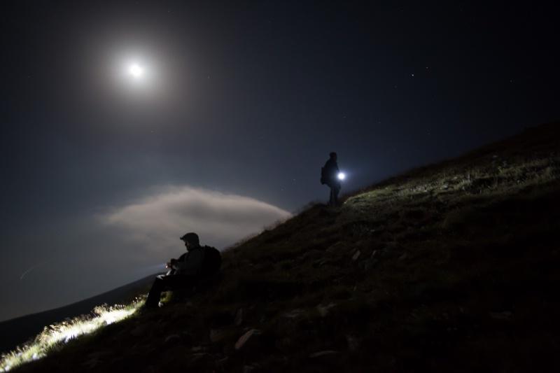 Meteor Falls, Hikers Climb