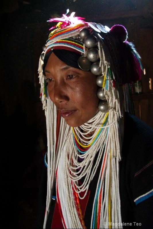 Tribal Lady in Traditional Wear (2)
