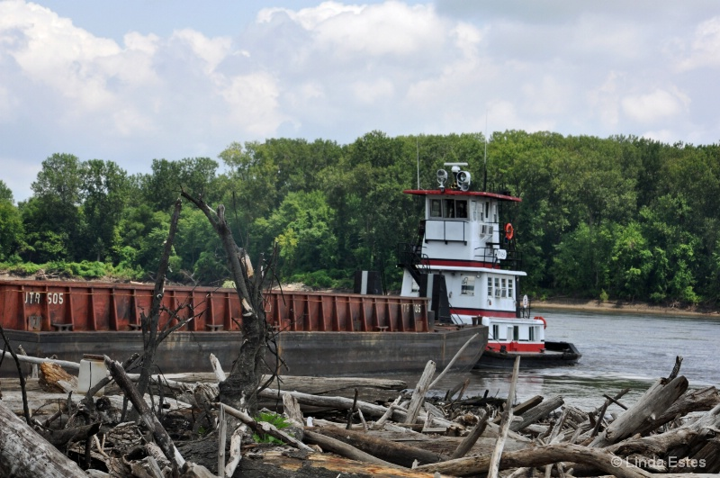 Logjam on the Missouri River