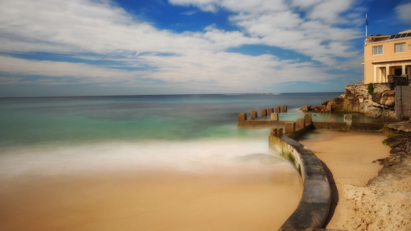Coogee Beach-Long Exposure
