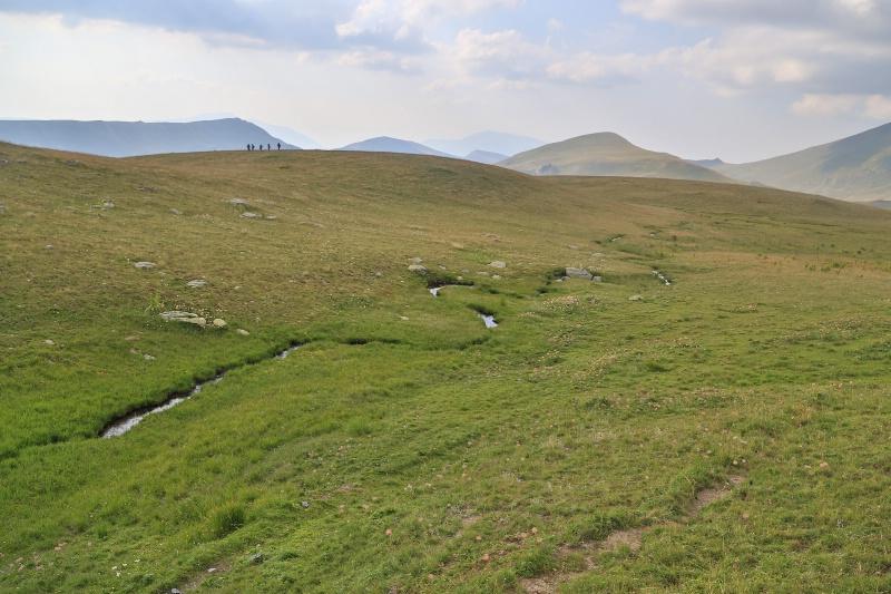 Stream & Hikers